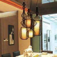 Brief restaurant pendant light big nobility pendant light bird cage pendant light 9876