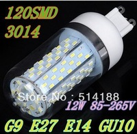 TOP QUALITY factory sale GU10 E14 E27 G9 LED light Maize Bulb lasting free shipping by China post 12W high power