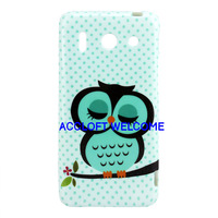 Fashion Cute Cartoon Sleeping Owl Soft TPU Huawei Ascend G510 Case Huawei G510 Cover