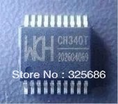 Free delivery are brand new original authentic WCH CH340T CH340 SSOP20 serial chip