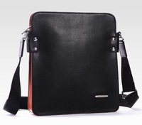 2014 hot arrival hot sale fashion men bags, men genuine leather messenger bag, high quality man brand business bag,MN19