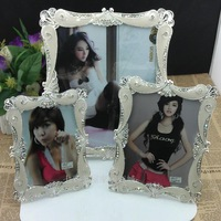 Luxury quality gift fashion rhinestone photo frame picture frame decoration