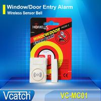 Home Security Door Window Entry Burglar Alarm Wireless Sensor Bell + Free Shipping