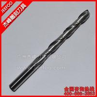 6*52H*80L carbide endmill double flute spiral CNC router bits