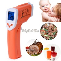 New High Quality Non-Contact IR Infrared Thermometer Laser Digital Temperature -50~360 Centigrade cooking tools 20045