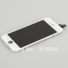 SZ 100% High Quality,Test One by One,White LCD Screen Display Touch Digitizer Assembly Fit For iPhone 5 5G 6th BA145