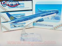 Viet Nam air lins plane model Boeing 777 16cm alloy metal model aircraft souvenir