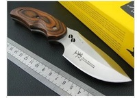 Fast shipping BUCK 076 Reindeer Small Fixed Blade Knife Knives Outdoor Camping Hunting Survival Knife