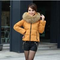 Virulent 2013 large fur collar medium-long down coat women down coat outerwear yr223