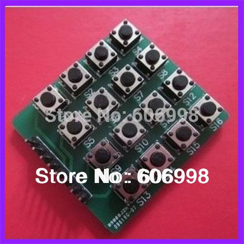 Line 16 Button 4X4 Matrix Keyboard MCU External Keyboard
