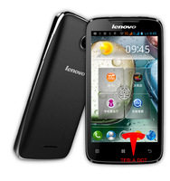 With gift! 4 Inch lenovo A390 Phone MTK6577 Dual Core, Android 4.0 512MB RAM 4GB ROM Touch Screen Dual SIM Card with 5MP camera