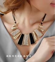1pcs 2014 hot female fashion short design geometry necklace decoration clothing accessories A0237