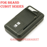 Original 2in1 Output 1A Usb Battery Charger For Cubot C7 C7+ C9+ C9W C11 GT72 GT90 GT99 One P6 P9 T9 Cell Phone