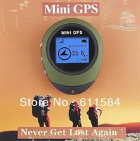 50pcs/lot by DHL EMS shipping Handheld Keychain PG03 Mini GPS Navigation USB Rechargeable For Outdoor Travel has Russian manual
