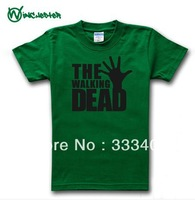 New multicolor TWD The Walking Dead cotton short-sleeve t shirt