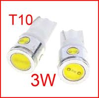 2PCS T10 3w W5W 4 SMD LED 4smd 4led Car Wedge Light 3W High Power White Lamp Bulb 250LM #MKEIHS #FEJNI