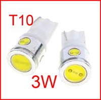 2PCS T10 3w W5W 4 SMD LED 4smd 4led Car Wedge Light 3W High Power White Lamp Bulb 250LM #MKEIHS #FEJNI