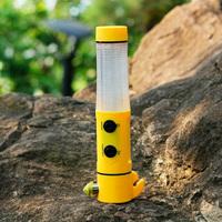 Multifunctional rescue hammer survival light car safety hammer emergency flashlight car signal lamp