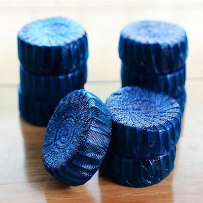 10pcs/lot Toilet cathart agent blue bubble automatic toilet bowl