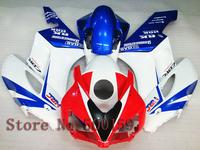 INJECTION MOLD For Honda CBR1000RR 2004 2005  red white blue  CBR1000 RR CBR 1000 RR 04 05  ABS Fairing Set Plastic Kit 03
