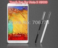 For Samsung Galaxy Note 3 Note3 N9000 Wholesale White Black Plastic Touch Pen S pen S-pen 200pcs/lot