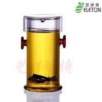 Interaural glass pot tea set kung fu cup black tea pot 19.9