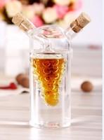 Fashion glass sauce pot soy sauce and vinegar cruet oil bottle oil and vinegar pot seasoning bottle