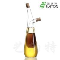 Kitchen supplies oil and vinegar bottle oiler soy sauce and vinegar cruet glass bottle sealed leak-proof castoffs