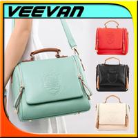 VEEVAN Fashion New 2014 women messenger bags,PU leather women handbag,Fasnion ladies shoulder bags,Hot sales Women bags