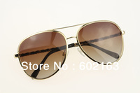 Lengent Sunglasses Women 4194 Metal Fashion with Genuine Leather Chain Big  Polarized Lens Stainless Steel Frame
