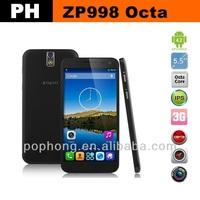 Original Zopo ZP998 NFC MTK6592 Smart Phone Octa Core 2G RAM 16G ROM Android 14MP Camera