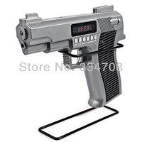 Free Shipping Mini Portable Gun Style Speaker Support MP3 Format Music TF card Speaker Gun Shape Best Toy Gift