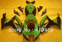 Injection Mould Fairing kit for SUZUKI GSXR600 750 GSXR600 GSXR 750 K6 06 07 2006 2007 Fashion black green ABS Fairings set BA60