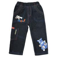 Free Shipping 2014 New Arrivel Boys Jeans Long Length Fashion Printed Cartoon Pattren 100%Cotton Boy's Clothing 6Pcs/lot