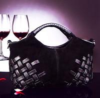 women leather vintage bag handbags cowhide handbag designer bag small bag Prepare the texture A variety of color