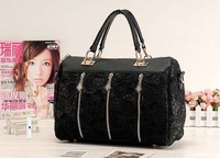 New 2014 handbag  messenger bag  shoulder bagDAPHNE vintage lace bags women's handbag  Free shipping