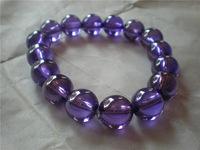Free shipping  Natural purple zircon bracelet bracelets