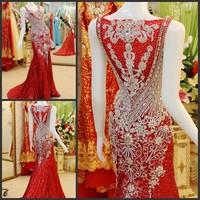 Ultimate luxury crystal formal dress formal dress toast the bride married formal dress evening dress xj89810
