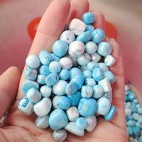 wholesale cheap price natural tophus stone gravel beads for sale/beutiful raw quartz fashion jewelry beads/ornament stone