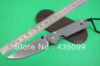 Chris Reeve Knife The 25th Anniversary OEM Classic Tactical Knife Folding Knifes With Titanium Alloy Handle Free Shipping