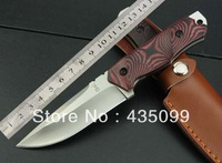 "Tanabe ""Tigers Straight Knife"" High Quality Outdoor Hiking Camping Knife Survival Fixed Blade Tactical Hunting Knife"