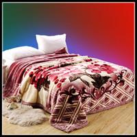 Raschel blanket double layer thickening blanket single double fleece blanket 89