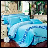Bed cover bed skirt fitted style rose velvet piece set coral fleece short plush velvet FL kit lace