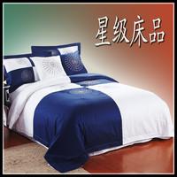 Bedding 100% cotton four piece set satin six pieces set bed sheets five pieces set