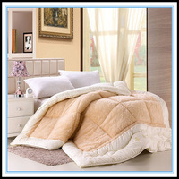 Quilting by wool quilt winter is bedding single double quilt thermal