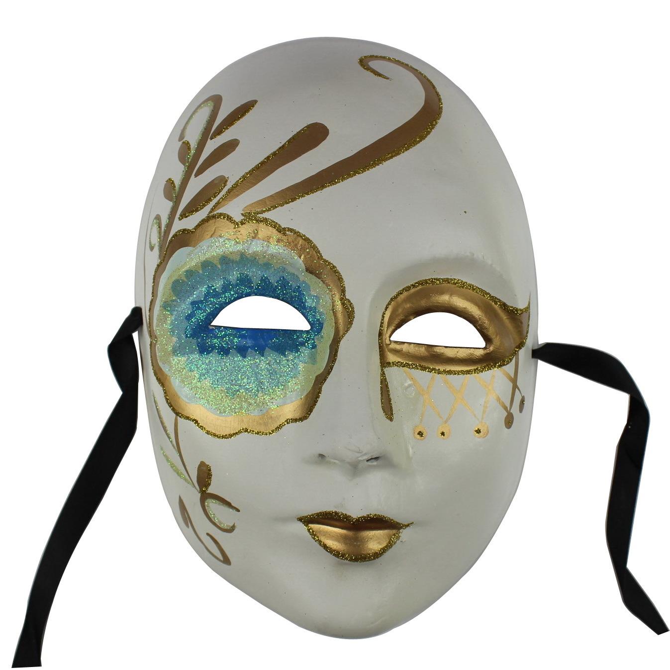 Маскарадная маска в домашних условиях