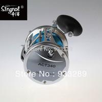 Free Shipping ACT340 4BB Boat Fishing Reel Aluminum Trolling Reel 6.2:1 Gear Ratio Big game fishing reel Manufacturer