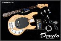 DIY  Electric Bass Guitar Kit  Bolt-On Solid American Ash Body   MX-999