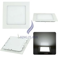 2014 Hot Sale New 21 Cold White Recessed Ceiling Square Panel Down Light Bulb Lamp 19965