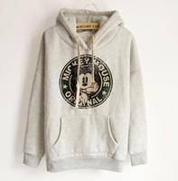Hot sale!!New 2014 Women's Hooded Sweatshirts Outwear Hoodies Ladies fashion cartoon Coat Free shipping